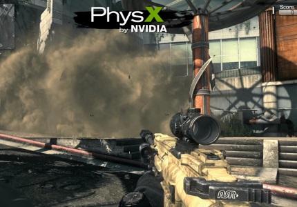 NVIDIA videokártya PhysX
