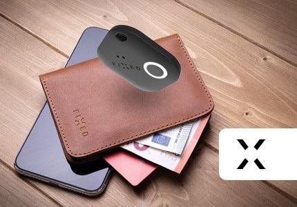 Chytrá peněženka FIXED Smile