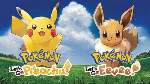 Pokémon Lets Go Pikachu! és Pokémon Lets Go Eevee!