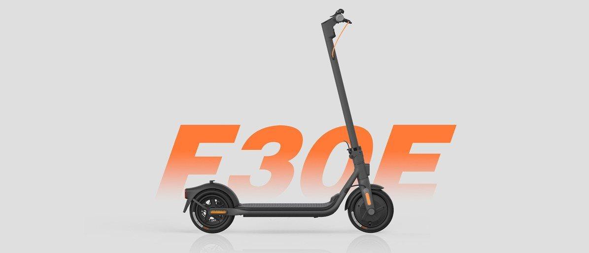 Ninebot Kickscooter F30E by Segway elektromos roller