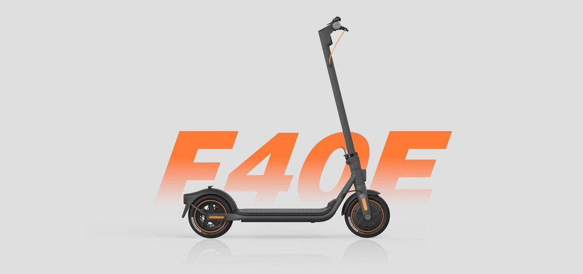 Ninebot Kickscooter F40E by Segway elektromos roller