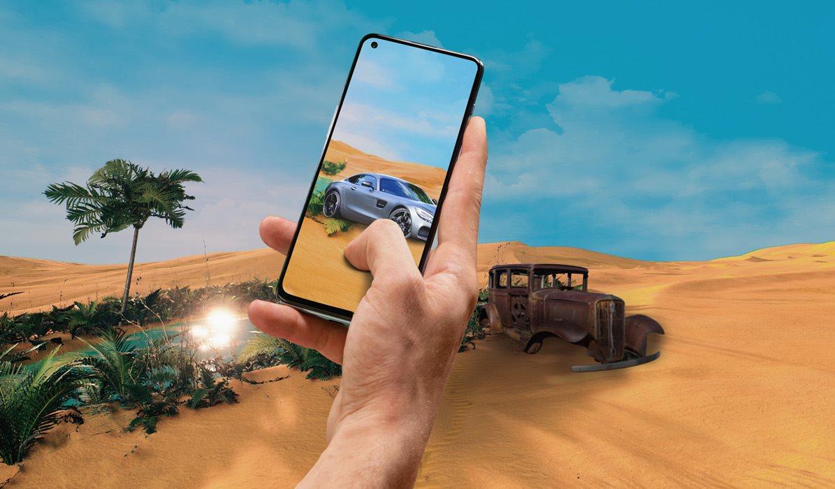 OnePlus Nord 2 5G 128 GB kék áttekintése