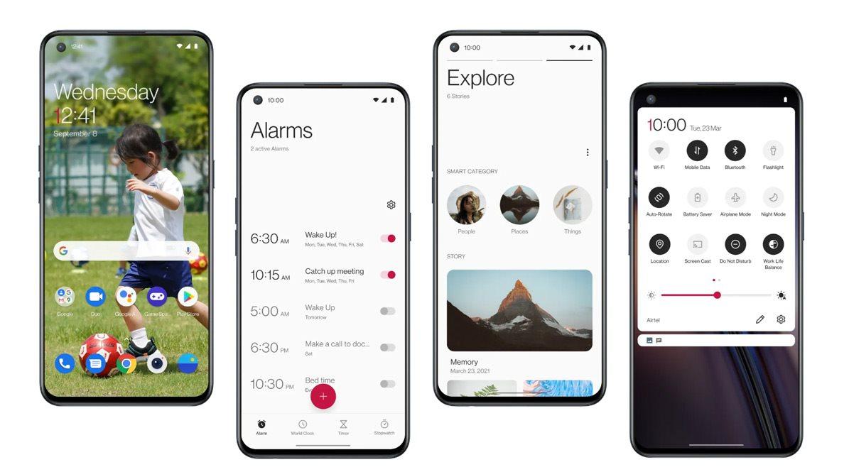 OnePlus Nord 2 5G 128 GB kék megfizethető okostelefon