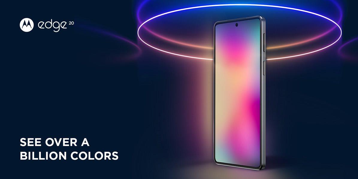 Bemutatjuk a Motorola Edge 20 128 GB mobiltelefont fehér színben